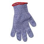 San Jamar SG10-BL-M Cut Resistant Seafood Glove, Ambidextrous, Medium, Blue