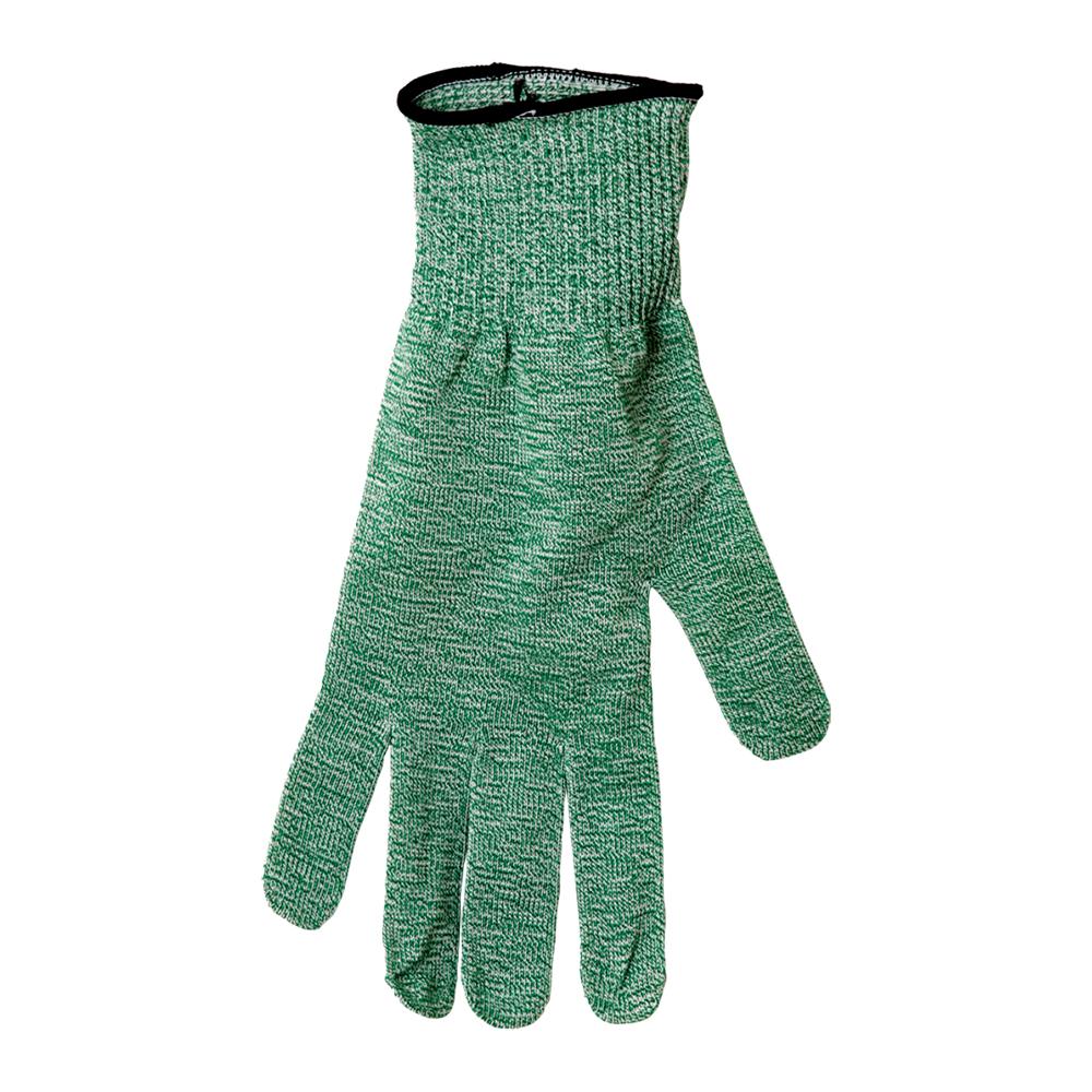 San Jamar SG10-GN-L Cut Resistant Produce Glove, Ambidextrous, Large, Green