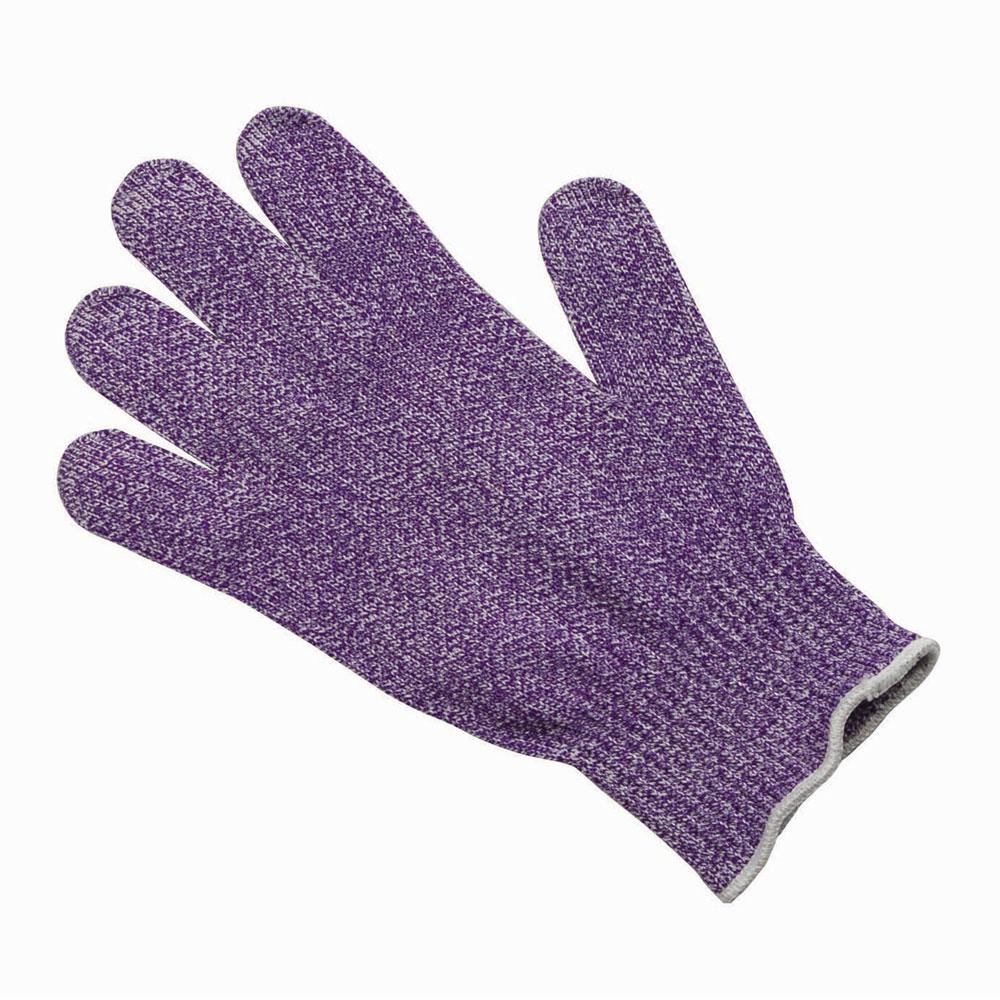 San Jamar SG10-PR-L Large Cut Resistant Glove, Purple