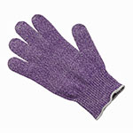 San Jamar SG10-PR-M Medium Cut Resistant Glove, Purple