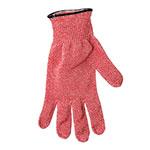 San Jamar SG10-RD-L Cut Resistant Meat Glove, Ambidextrous, Large, Red