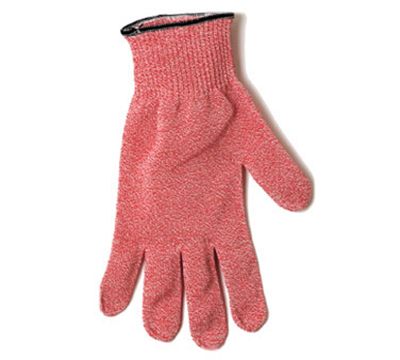 San Jamar SG10RDXL Cut-Resistant Glove - Ambidextrous, XL, Red