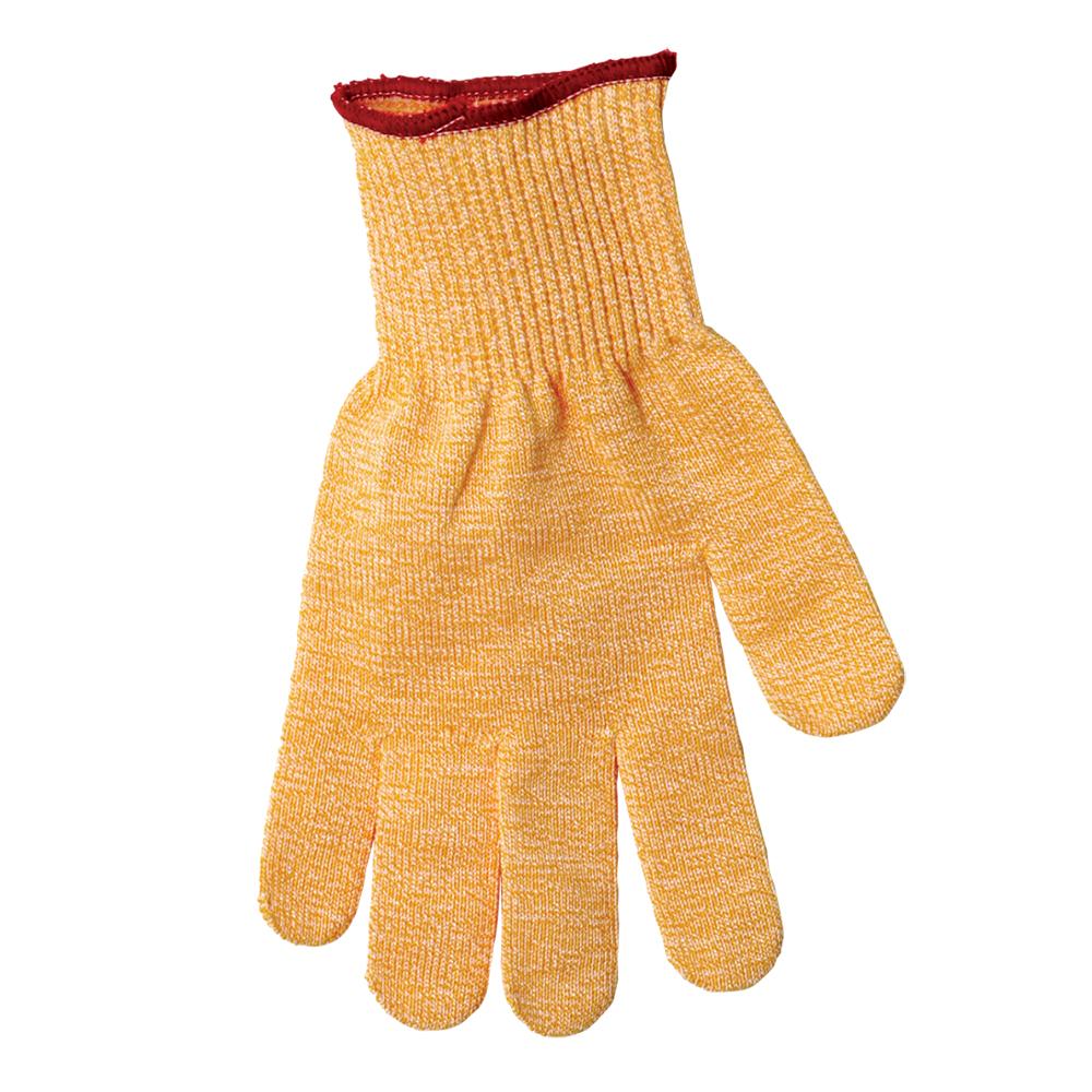 San Jamar SG10-Y-L Cut Resistant Poultry Glove, Ambidextrous, Large, Yellow