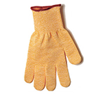 San Jamar SG10YLXL Cut-Resistant Glove - Ambidextrous, XL, Yellow