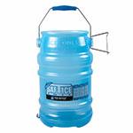 San Jamar SI6000BPAF Round Ice Tote w/ 6-gal Capacity, Blue