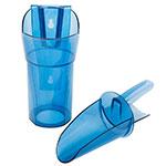 San Jamar SI7700 24-oz Round Ice Scoop w/ Knuckle Guard, Plastic