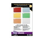 San Jamar CBCWLCTST Cutting Board Smart Chart, Color-Coded & Laminated, 11 x 17-in