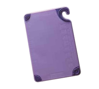 San Jamar CBG6938PR Allergen Cutting Board, Dishwasher Safe, Co-Polymer, 6 x 9-in, Purple