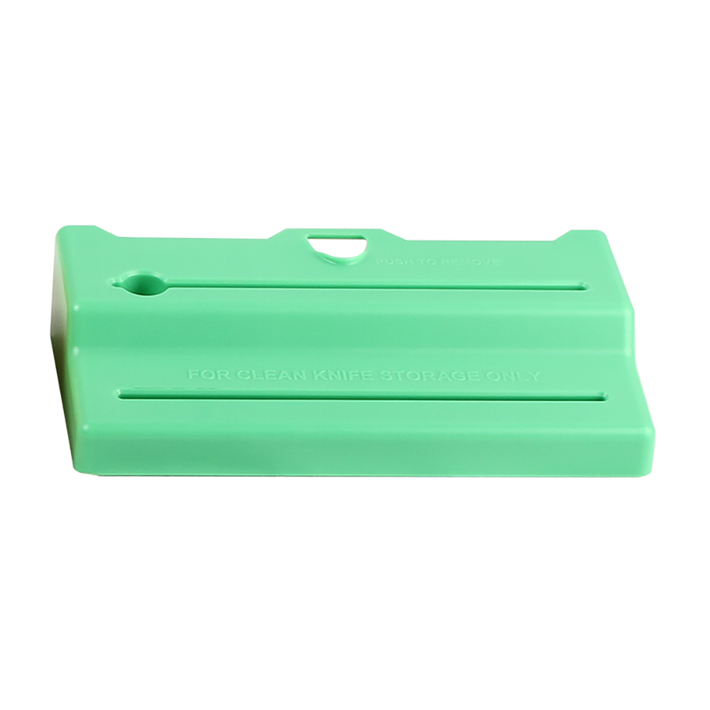 San Jamar STK1006GRL Lid for Saf-T-Knife Junior, Green