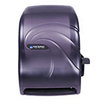 San Jamar T1190TBK Paper Towel Dispenser w/ Lever Action, Black Pearl