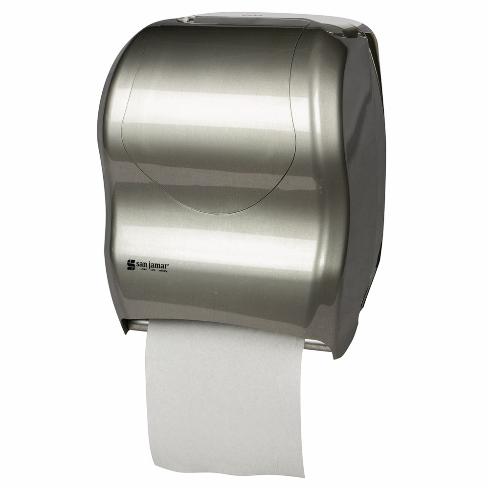 San Jamar T1370SS Tear-N-Dry Wall-Mount Paper Towel Dispenser - Touchless, Stainless