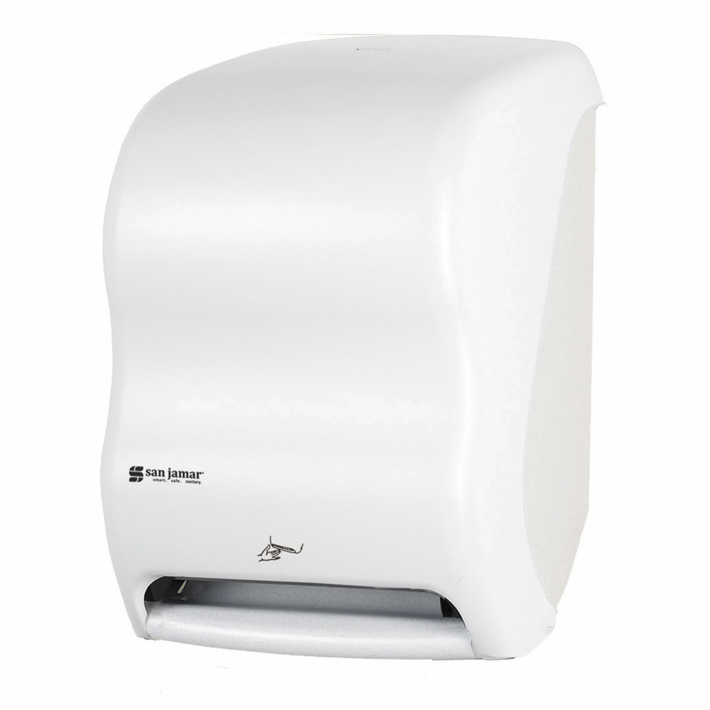San Jamar T1400WH Towel Dispenser for (1) 8 x 8-in Roll, White