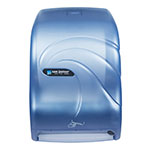 San Jamar T1490TBL Smart System Oceans Wall Towel Dispenser - Touchless, Arctic Blue