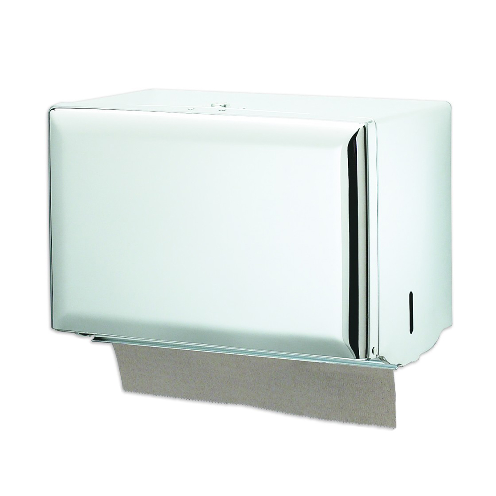 San Jamar T1800WH Classic Wall Towel Dispenser - Singlefold, White