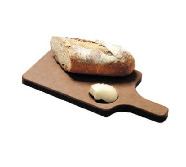 San Jamar TC7501 Tuff-Cut Resin Bread Board, 7 in x 10 in x 1/4 in, 5 in Handle, NSF