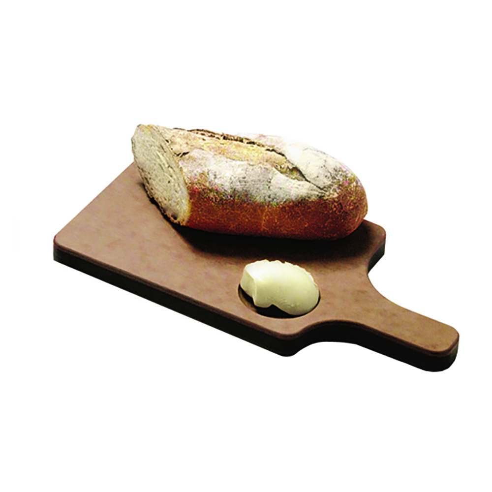"San Jamar TC7503 Resin Bread Board, 8-1/2 x 6-1/2 x 3/4"" w/ 4"" Handle"
