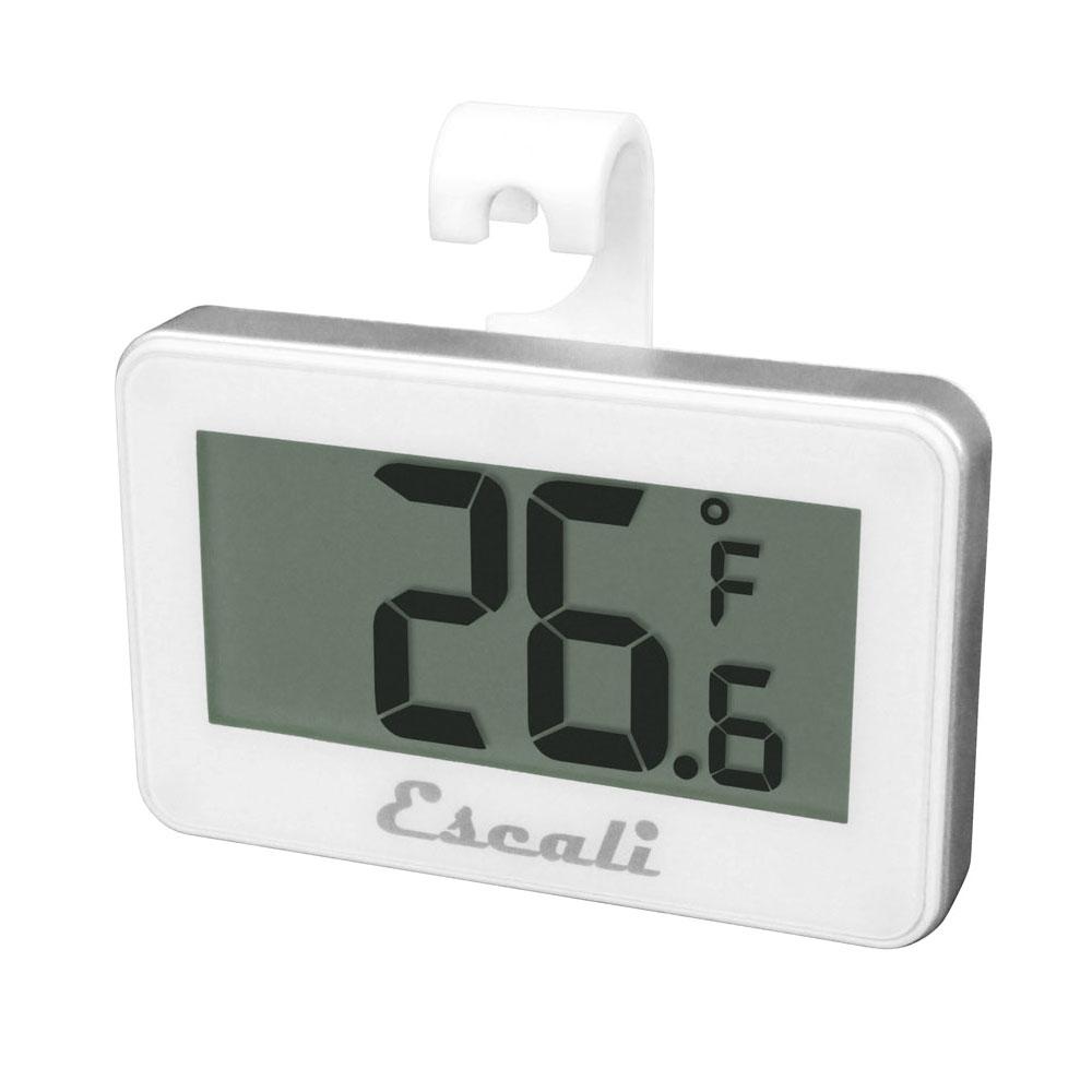 "San Jamar THDGRF Escali 2.63"" Digital Thermometer w/ -4° to 122°F Temperature Range"