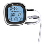 "San Jamar THDGTMTS Escali 7.25"" Digital Probe Thermometer & Timer w/ -4° to 482°F Temperature Range, Black"