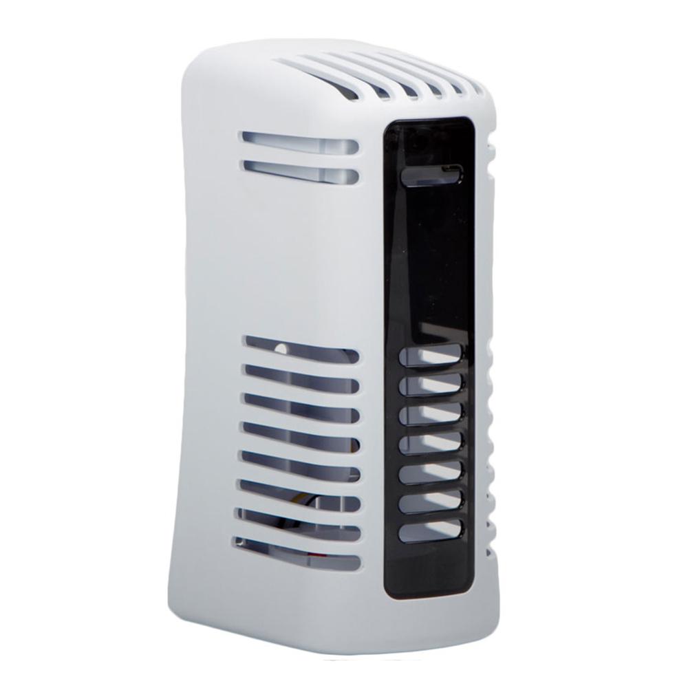 San Jamar WF107801206 Twist Fan Air Care System w/ Battery-Powered Fan, White
