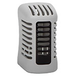 San Jamar WP107801202 Twist Passive Air Care System w/ Continuous Freshening, Grey