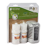 San Jamar WP1202MB Arriba Twist Retail Case Pack w/ Passive Dispenser & 2-Fragrances, Mango Burst