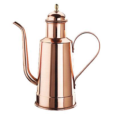 World Cuisine 41781-10 Oil Dispenser w/ Wood Handle, 1-1/8-qt, Copper