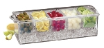 World Cuisine 44947-03 Bar Cocktail Container, 5-7/8 x 19.25-in, Plastic