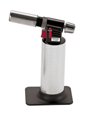 World Cuisine 47841-04 Micro Kitchen Torch,  4.75 x 2.75-in, Standard Butane Fuel