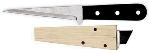 "World Cuisine 47885-01 10"" Ice Carving Knife, Stainless Blade, Beech Wood Handle"