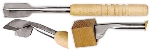 World Cuisine 47885-02 12.5-in Ice Carving Chisel, Stainless Blade, Beech Wood Handle