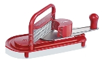"World Cuisine 49837-01 Tomato Slicer, .25"" Slices,  ABS, Stainless"