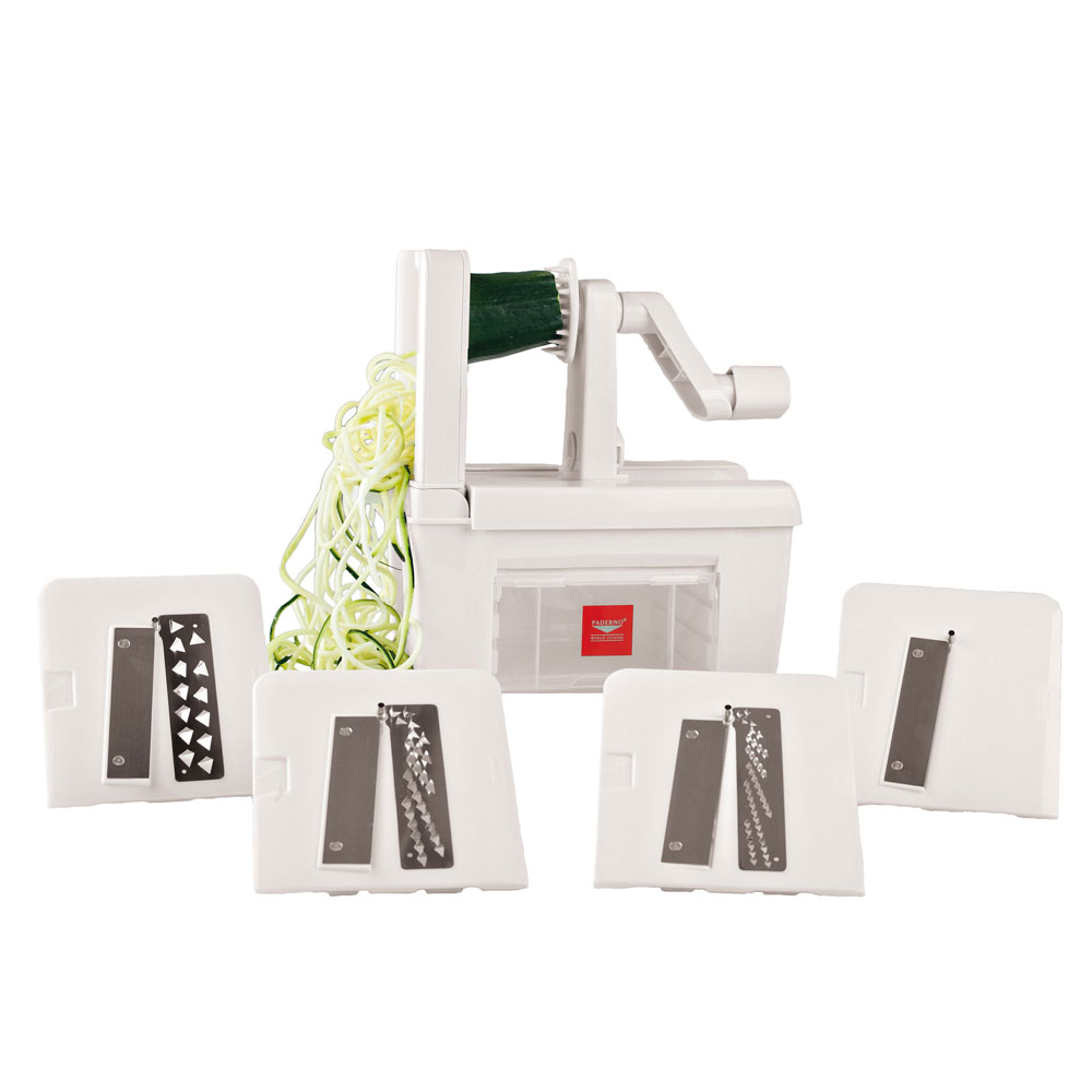 World Cuisine A4982800 Tabletop Spiral Vegetable Slicer w...