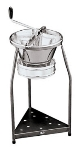 World Cuisine 42577-39 Food Mill w/ Black Stand, 15-qt Capacity, Tinned Steel