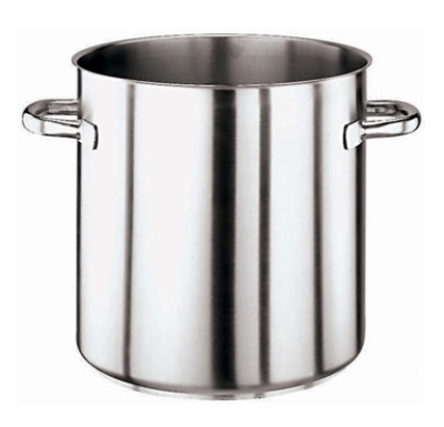 World Cuisine 11001-40 52.75-qt Stock Pot - Induction Compatabile , Stainless