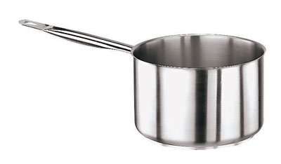World Cuisine 11006-24 6.87-qt Stainless Steel Saucepan w/ Hollow Metal Handle