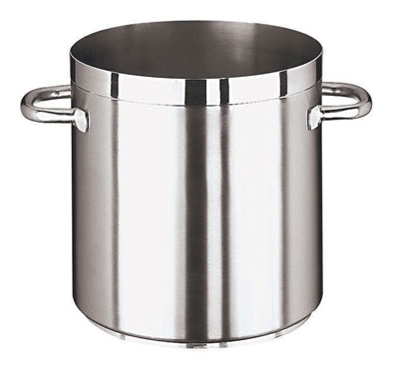 World Cuisine 11101-20 6.5-qt Stock Pot , Induction Compatible, Stainless