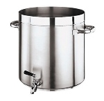 World Cuisine 11102-36 38-qt Stock Pot - Stainless