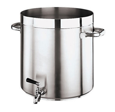 World Cuisine 11102-40 53-qt Stock Pot - Stainless