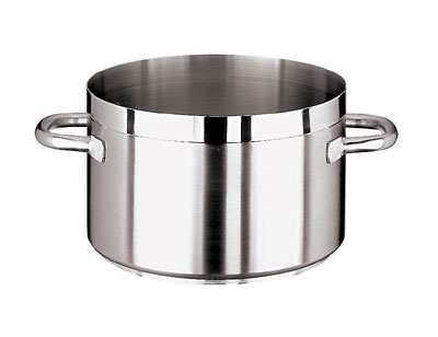 World Cuisine 11107-50 66.5-qt Saucepan - Induction Compatible, Stainless