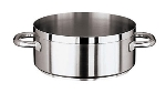 World Cuisine 11109-32 10.5-qt Stainless Steel Braising Pot