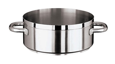 World Cuisine 11109-24 4.5-qt Rondeau Pot, Stainless