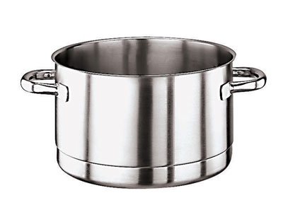 "World Cuisine 11119-28 11"", Stock Pot - Induction Compatible, Stainless"