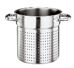 "World Cuisine 11123-28 11"" Stock Pot - Induction Compatible, Stainless"