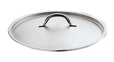 "World Cuisine 11161-60 Loop Handle Lid, 23-5/8"", Stainless"