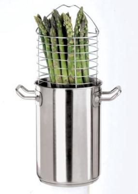 World Cuisine 12037-16 5-qt Stock Pot w/ Lid, Stainless