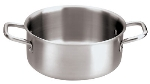"World Cuisine 12509-20 3-qt Stainless Sauce Pan - 7.87"" x 3.75"""
