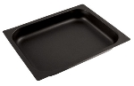 "World Cuisine 14365-02 Hotel Baking Sheet, 1/2-Size, 3/4"" Deep, Non-Stick, Stainless"
