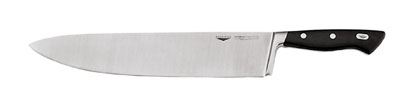 World Cuisine 18100-30 Chefs Knife, 11-7/8-in, Steel & Carbon Alloy, Plastic