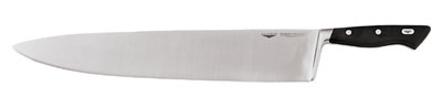 World Cuisine 18100-36 Chefs Knife, 14-1/8-in, Steel & Carbon Alloy, Plastic