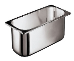 World Cuisine 41471-17 Ice Cream Container, 8-qt, Stainless Steel
